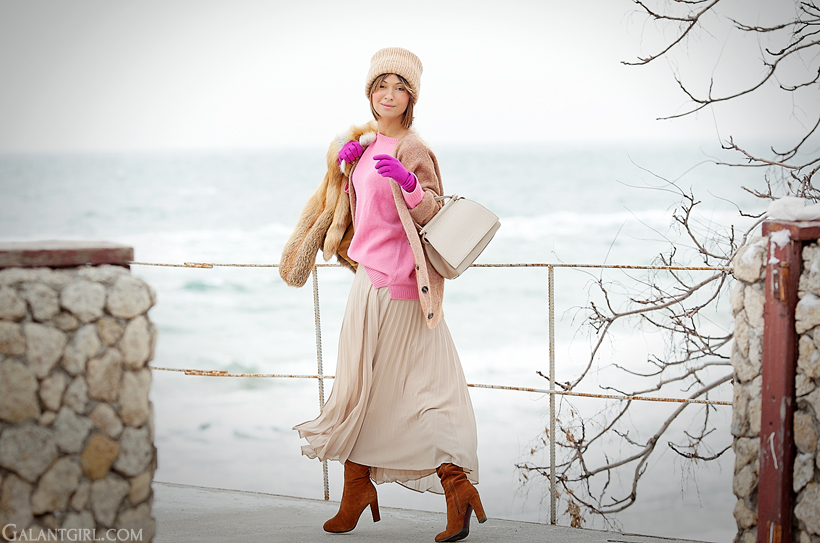 warm winter outfit 2014 on GalantGirl.com