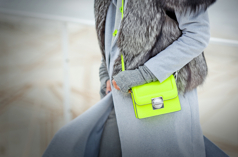 marc by marc jacobs neon cross-body bag,