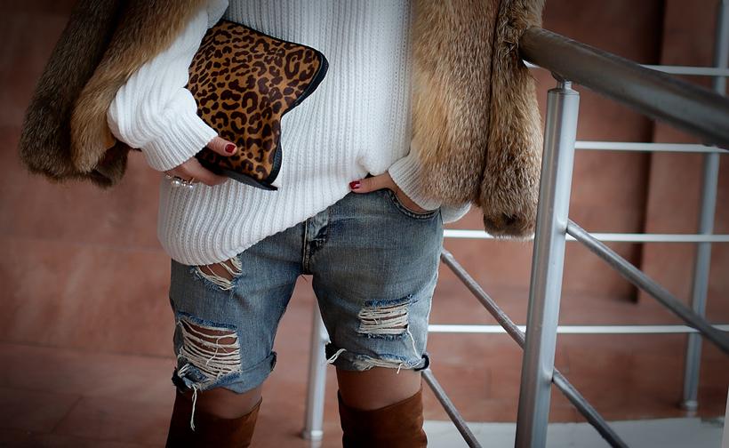 leopard clutch Phillip Lim