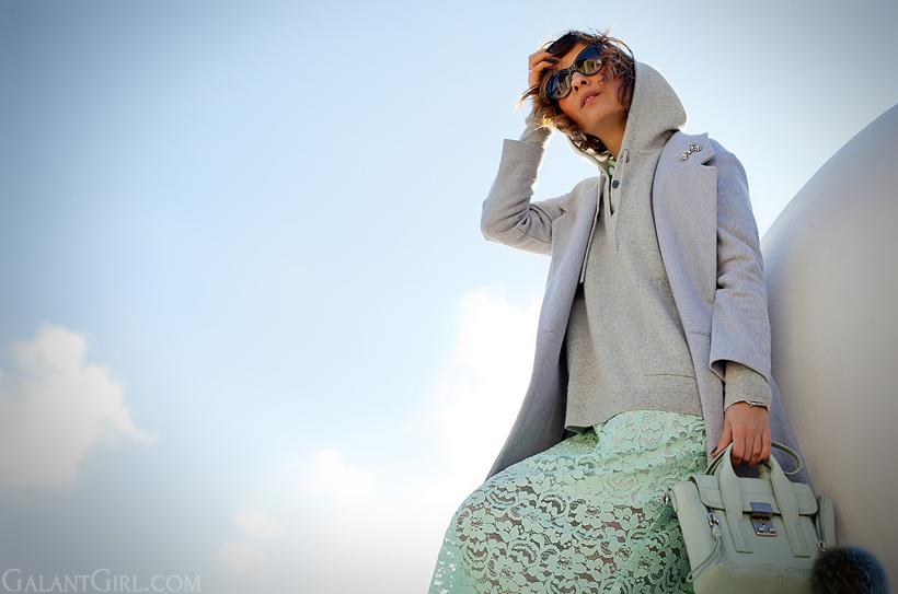 3.1 Phillip Lim mint mini pashli satchel