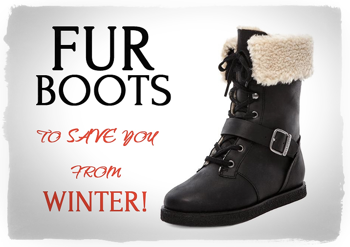 Really WARM and Stylish BOOTS!
