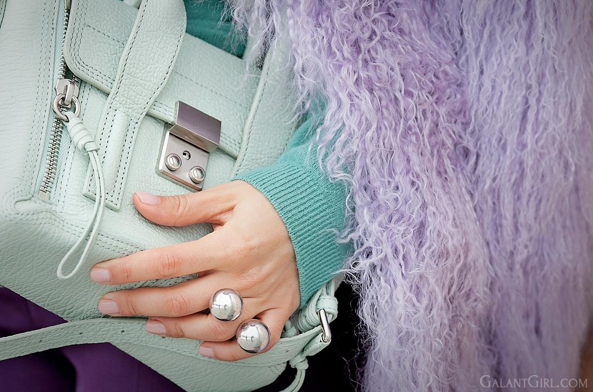 khoshtrik ring, 3.1 phillip lim mini mint pashli bag,