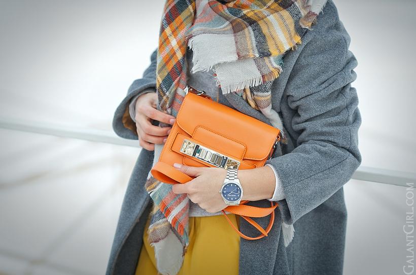 proenza schouler PS11 tiny orange bag