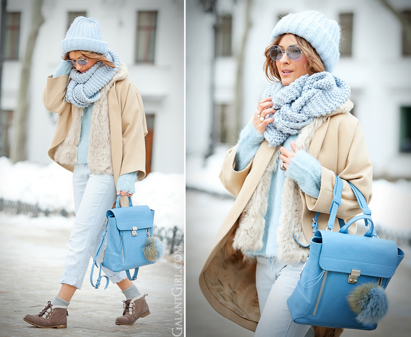 3.1 Phillip Lim Pashli blue backpack
