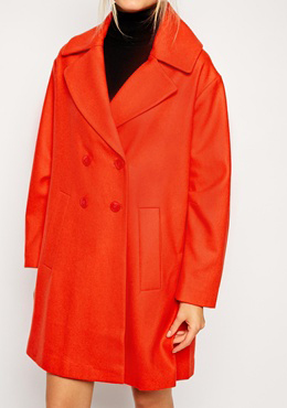 Wool Coat ASOS (70% OFF!)