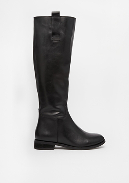 ASOS Leather knee high boots