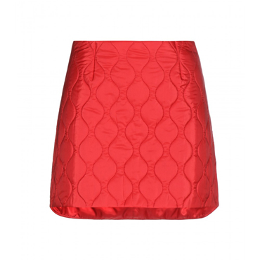 Quilted mini skirt MIU MIU (50% OFF)
