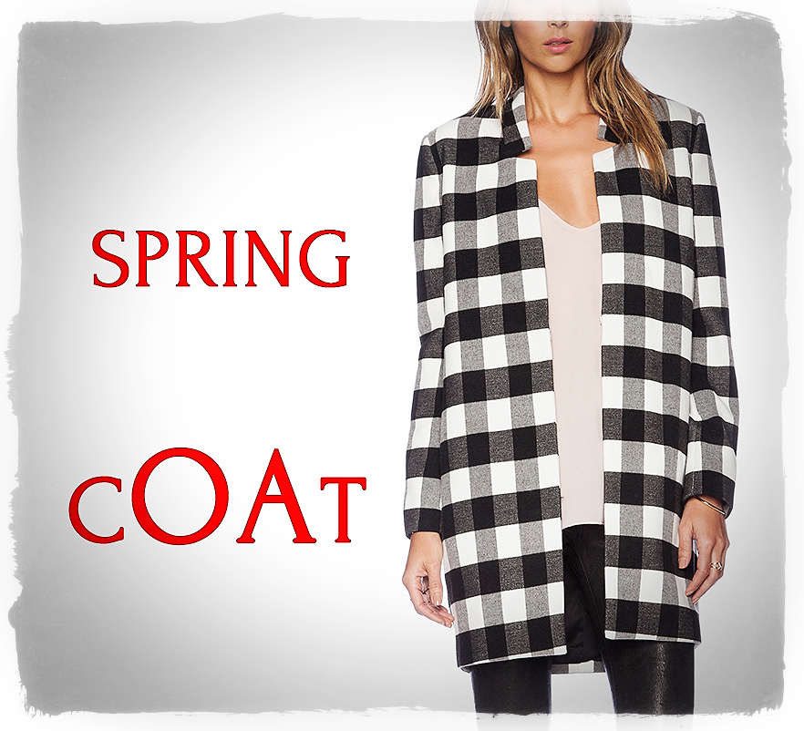Fancy COAT for Spring!