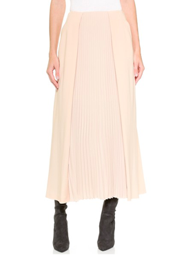 Pleated skirt CEDRIC CHARLIER (70% OFF!)