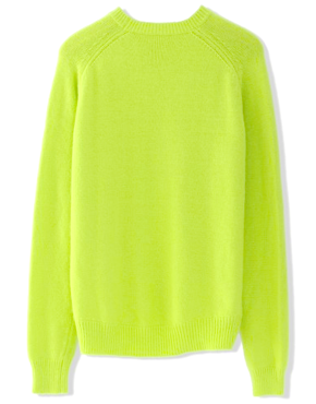 Classic neon wool jumper