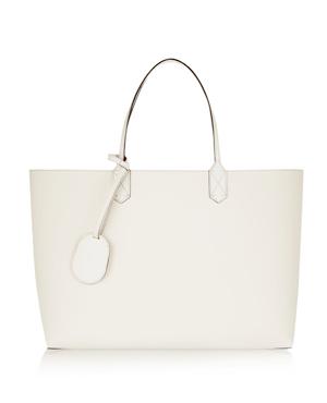 GUCCI white leather bag