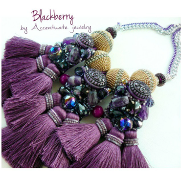 Accentuate Jewelry hand-made necklace