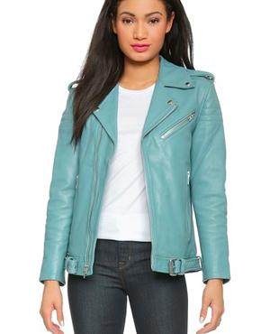 GANNI Angela Moto jacket