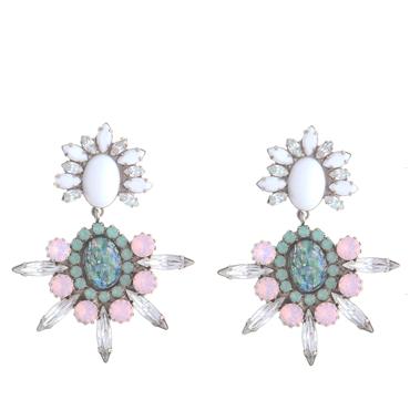 Dannijo Mika Pink earrings