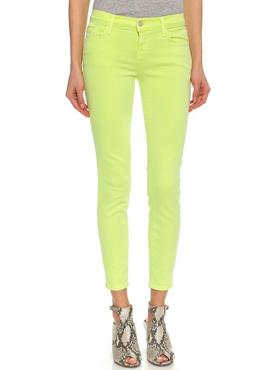 J BRAND Skinny Lime green jeans