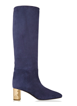 EMILIO PUCCI Suede Knee Boots