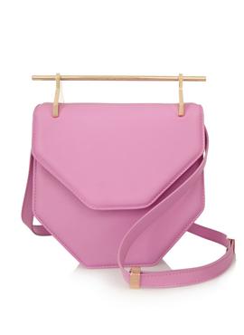 M2MALLETIER Amor small leather shoulder bag