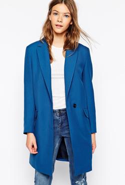 COOPER & STOLLBRAND wool coat