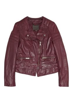 Leather biker Jacket MUUBA
