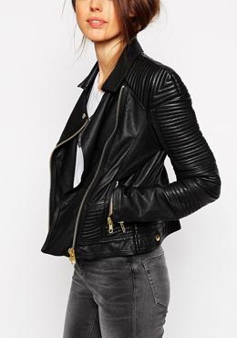 ASOS biker jacket