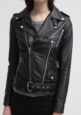BE EDGY leather biker jacket
