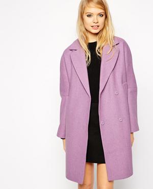 ASOS coat with Drop Shoulder