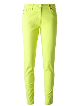 KENZO Skinny Lime green jeans
