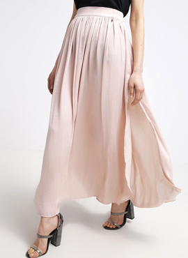 Pleated maxi skirt PEPE JEANS