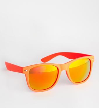 TRIP rubber Mirror D-frame Sunglasses