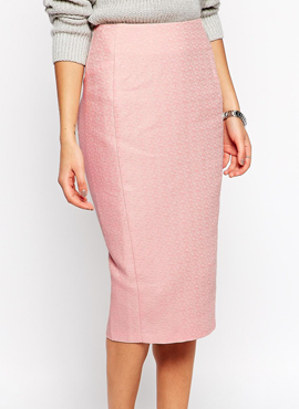 Pencil skirt in Texture
