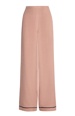 Silk wide-leg trousers ROCHAS (65% OFF)