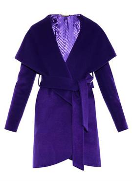Wrap wool Coat Diane Von Furstenberg