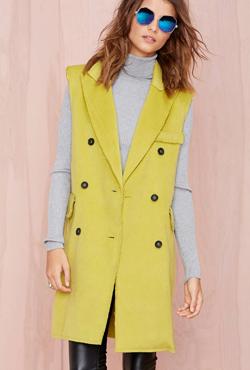 BLQ BASIQ Sleeveless coat