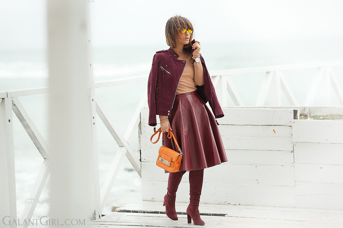 Proenza Schouler PS11 tiny orange bag,