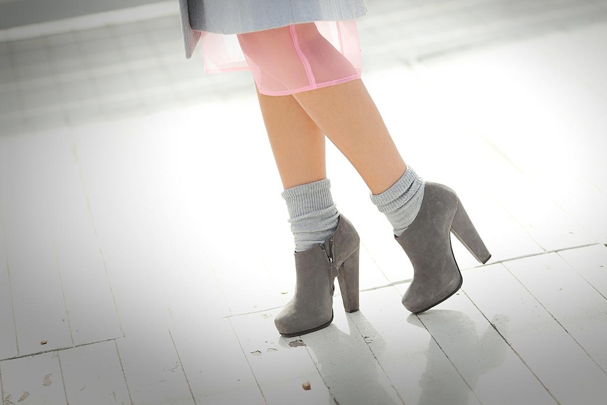 donna karan booties