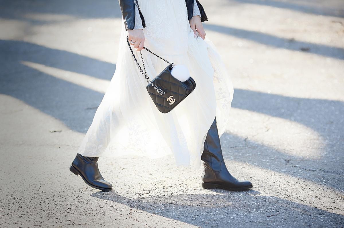 chanel vintage bag on GalantGirl.com