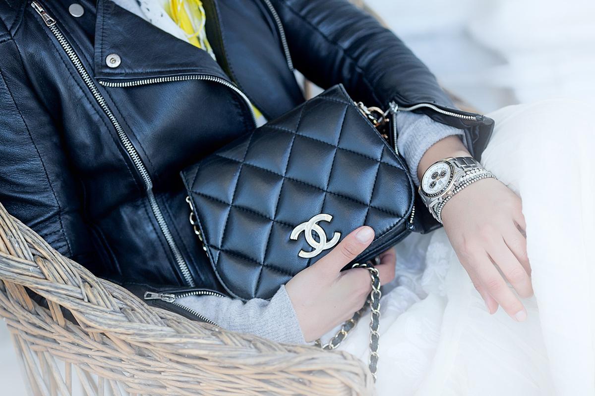 vintage chanel bag on GalantGirl.com