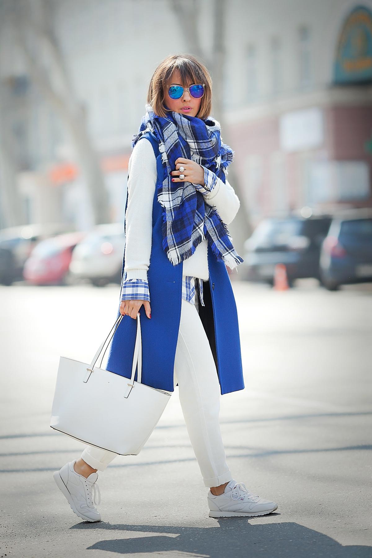 white kate spade new york tote bag on GalantGirl.com