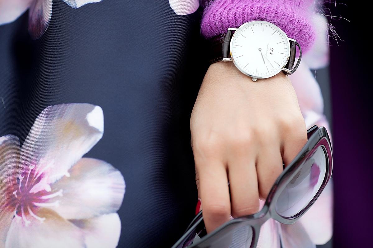 daniel wellington 40 mm watch on GalantGirl.com