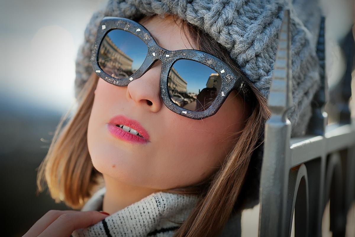 kuboraum sunglasses, galant girl,