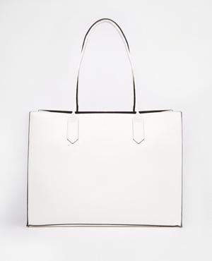 ASOS structured shopper bag