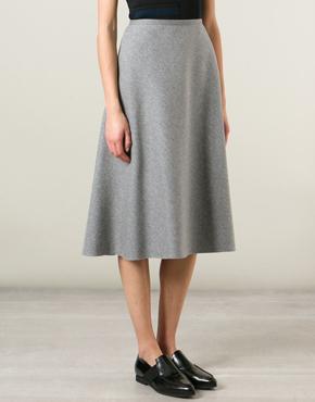 CEDRIK CHARLIER A-line skirt