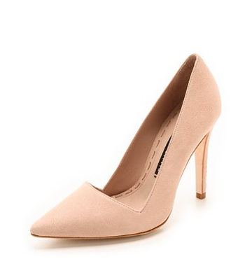 ALICE+OLIVIA Suede Pumps