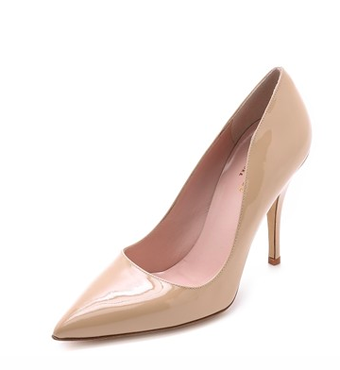 KATE SPADE NEW YORK nude pumps