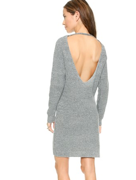 LINE&DOT Wool Sweater-Dress