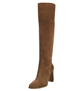 MICHAEL Michael Kors REGINA - Over-the-knee boots - dark caramel