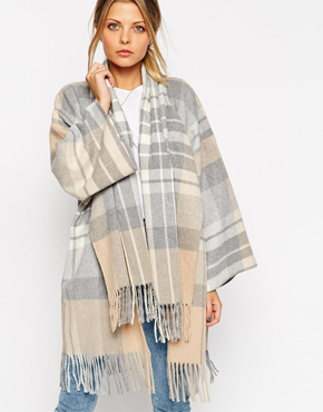 ASOS Blanket Wrap Coat