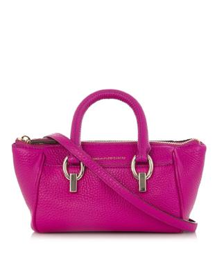 DIANE VON FURSTENBERG Sutra mini leather duffle bag