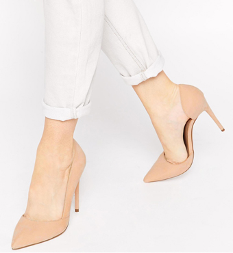 ASOS PALMA Pointed High Heels