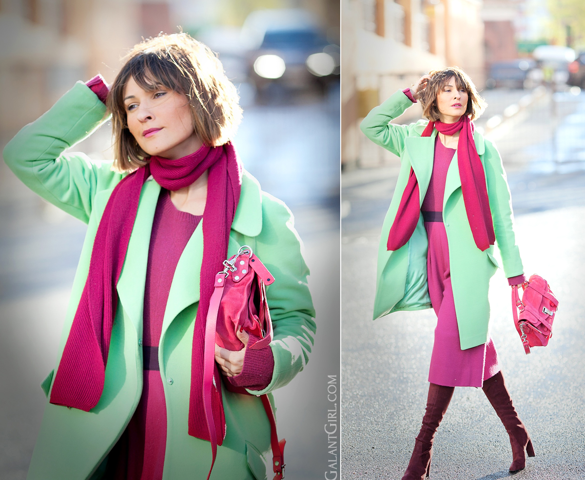 color block street style fashion on GalantGirl.com fashion-mode-streetstyle-streetfashion-fashionblogger-fashionblog-proenzaschouler-proenzaschoulerps1-fashionblogger-colorblock-russianblogger-mode-vogue-editorials-